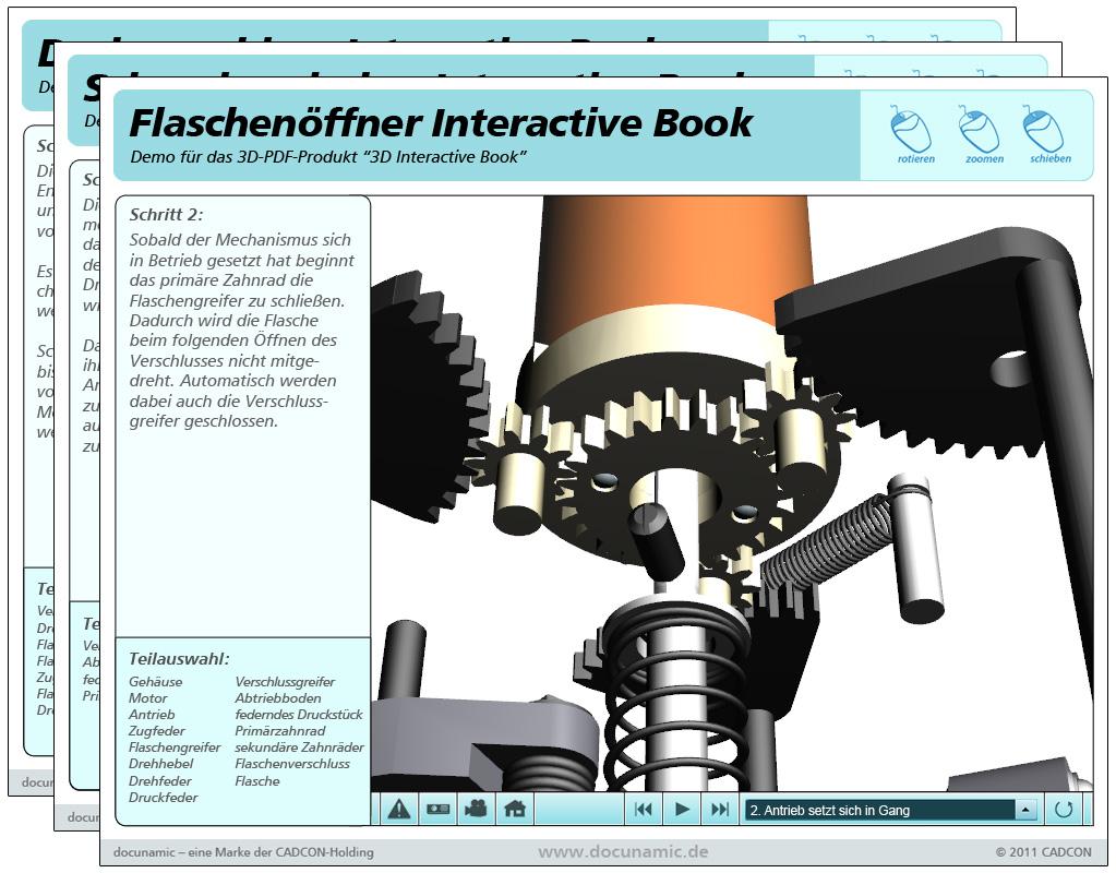 interactive 3d multimedia content pdf